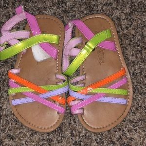 MIA Shoes - Girls Toddler Size 8 Sandals